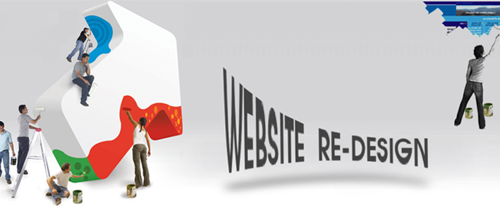 website redesigning work delhi